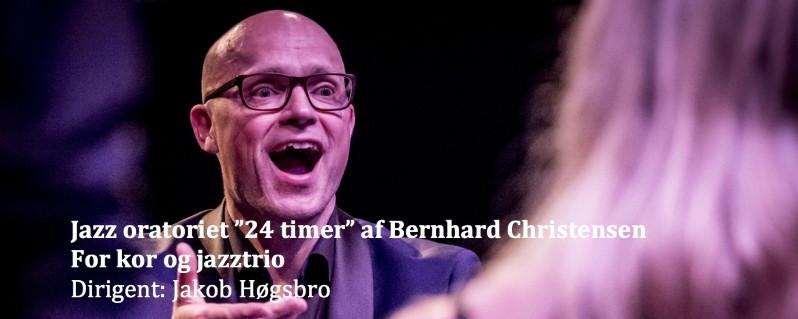 """Jazzoratoriet """"De 24 timer"""" i Aarhus"""