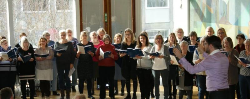 Kvindekorstævne i København med Phillip Faber